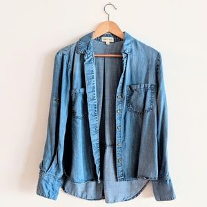 Cloth & Stone Anthropologie chambray shirt